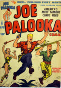 Joe Palooka Gold Age banda desenata comic