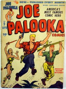 Joe Palooka Gold Age banda desenata comic