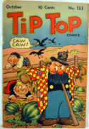 Tip Top Comics gold age benzi desenate vintage
