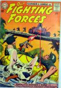 Fighting Forces DC benzi desenate vechi comics