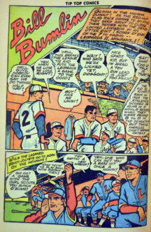 Tip Top Comics gold age benzi desenate vintage