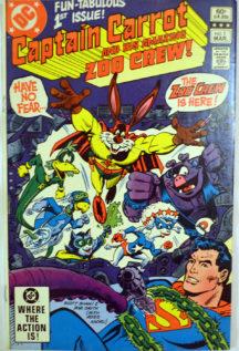 Captain Carrot comic benzi desenate