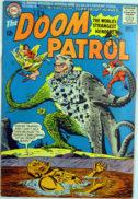 Doom Patrol DC Mineral Man benzi desenate vechi