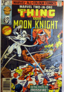 Moon Knight lupta vs The Thing Fantastic Fou