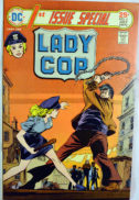Lady Cop Dc Comics benzi desenate vechi