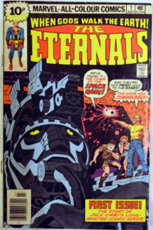 Eternals prima echipa benzi desenate vechi marvel