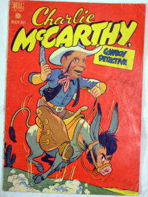 Charlie McCarthy Cowboy benzi desenate 1