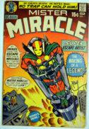 Mister Miracle prima aparitie origine