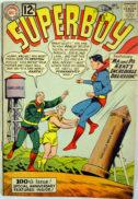 Superboy originea benzi desenate vechi