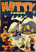 Nutty Comics cu animale harvey gold age