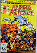 Tundra Alpha Flight benzi Marvel