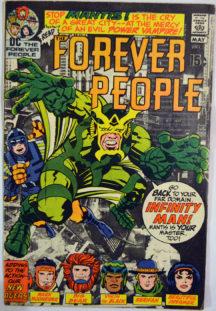 Forever People Darkseid benzi desenate vechi