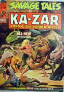 Ka-zar Savage Tales benzi Marvel