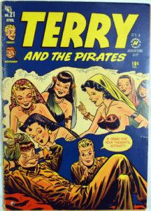 Harvey Comics Terry Pirates