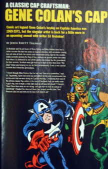 Moartea Capitanul America benzi desenate