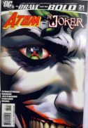 Atom si Joker cover benzi desenate noi Brave and the Bold