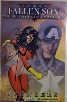 Fallen Son death of captain america benzi desenate comics Marvel