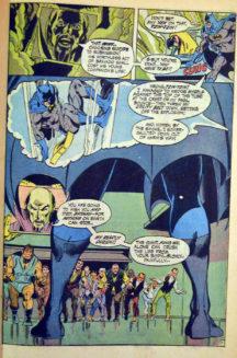 Neal Adams benzi desenate comics Batman