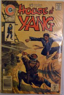 House of Yang benzi desenate vechi karate kung-fu