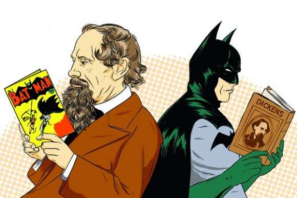 Batman Dickens Benzi desenate noi si vechi