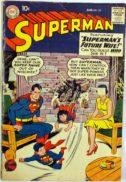 Superman casatorie benzi desenate vechi dc comics