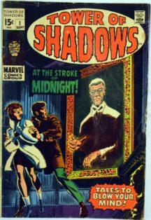Tower Shadows benzi desenate horror