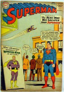 Superman Wonder-Man benzi comics