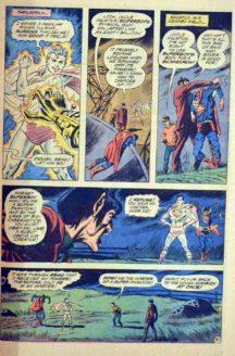 Superboy benzi desenate vechi fantoma dc comics