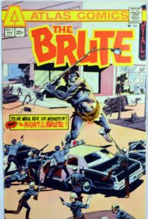 The Brute Atlas Comics benzi desenate vechi