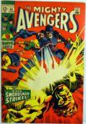 Avengers Swordsman benzi desenate vechi