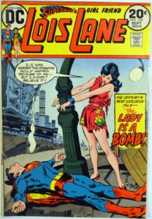 Lois Lane benzi desenate bomba
