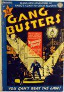 Gang Busters benzi desenate precode