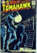 Benzi desenate cu indieni tomahawk DC Comics