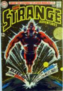 Adam Strange Adventures comics benzi dc