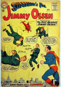 Jimmy Olsen Darkseid Cleopatra benzi desenate vechi