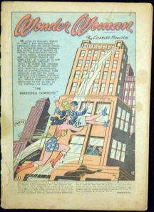Sensation Comics wonder woman benzi desenate comics gold age