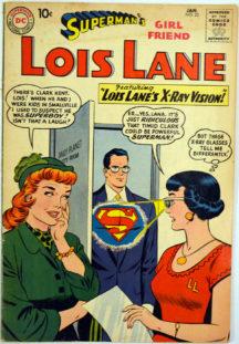 Lois Lane Lana Lang benzi desenate comics silver age