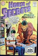 House of Secrets Mark Merlin benzi desenate vechi