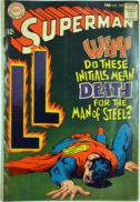 Superman Fortress of Solitude moartea lui
