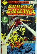 Battlestar Galactica comic benzi desenate Captain Adama