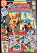 All Star Squadron Hawkman, Atom, Plastic Man
