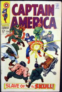Benzi desenate Marvel Red Skull Captain America