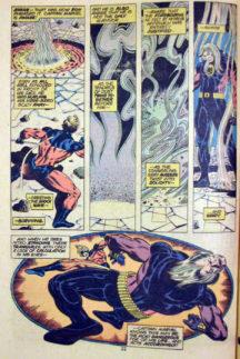 Nitro omoara Captain marvel benzi desenate vechi