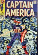 Captain America Bucky barnes moarte benzi desenate vechi marvel