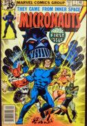 Micronauts 1 benzi desenate Marvel vechi cine sunt