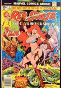Red Sonja serie benzi desenate sexy conan