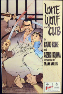 Frank Miller Lone Wolf Cub benzi desenate Romania