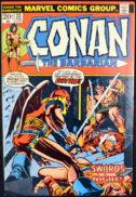 Prima Red Sonja Conan The Barbarian Marvel