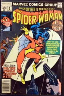Spider Woman 1 origine Marvel