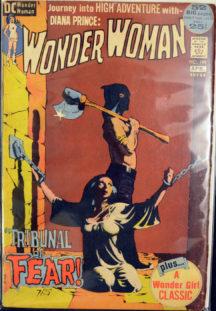 Wonder Girl Bondage Wonder Woman clasic cover benzi desenate dc